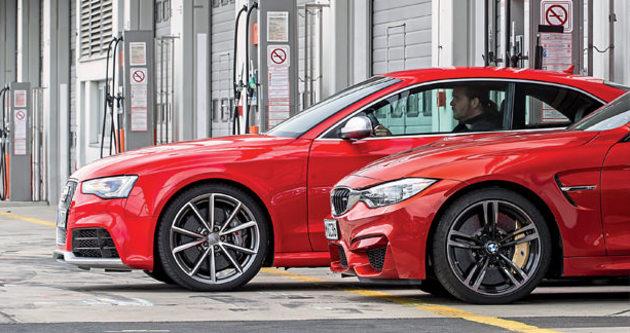 Bmw - Audi Kapışması