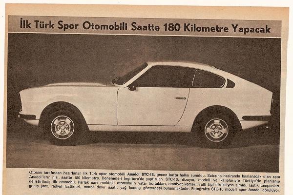 İlk Türk Spor Otomobil