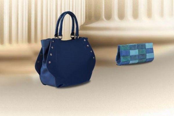 Mavi Çanta Modelleri