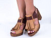 Yeni Sezon Bayan Sandalet Ayakkabı Modelleri
