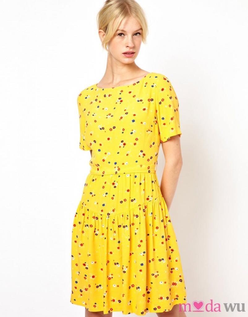 kısa kollu elbise modelleri