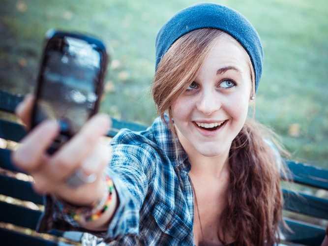 güzel selfie