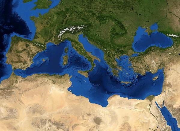 akdeniz okyanus tabanı