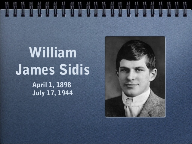 william james sidis